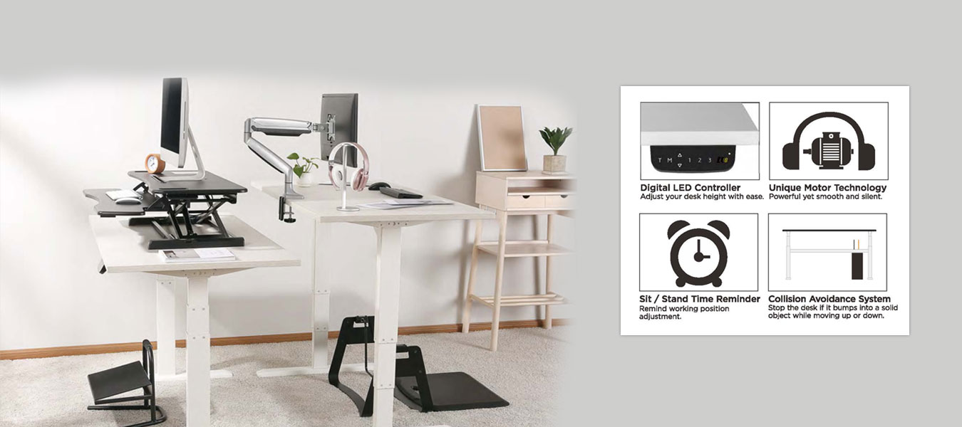 sit stand desk frames