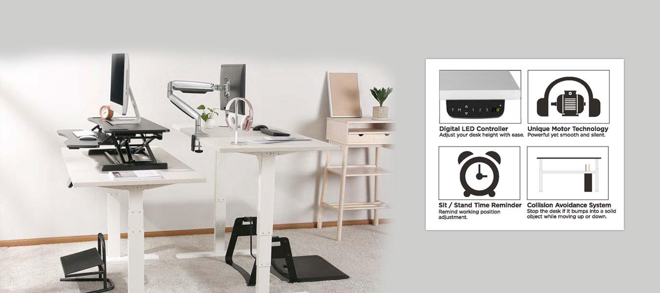 sit stand desk frames