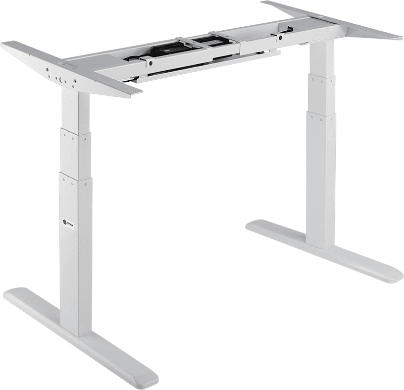 3 Stage Dual Motor Electric Sit Stand Desk Frame